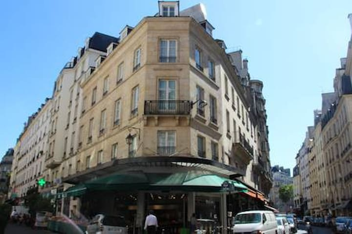 Room&bathx2 5bed 6guests in Saint-Germain-des-Pres