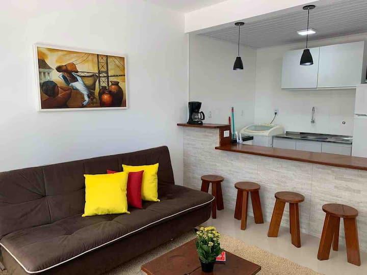 Lindo apartamento na praia de Jurerê.
