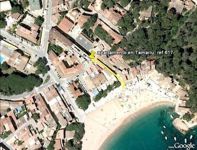 Apartamento a 2 min. a pie de la playa. - Tamariu - Huoneisto