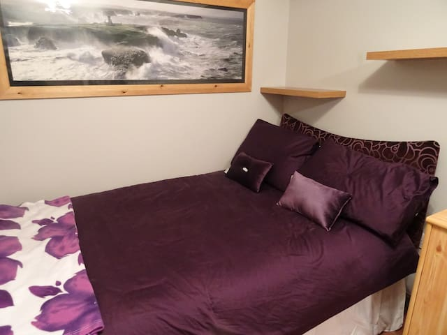 Newly finished double room for up to 4 guests