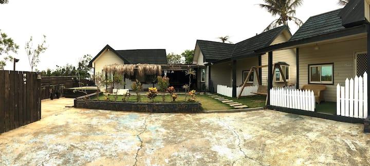 心境星空villa  獨享庭院與戲水池( 5 rooms 16 people)