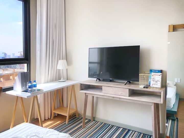 DANNY'S COPENHAGEN STYLE Bedroom for 02 guests