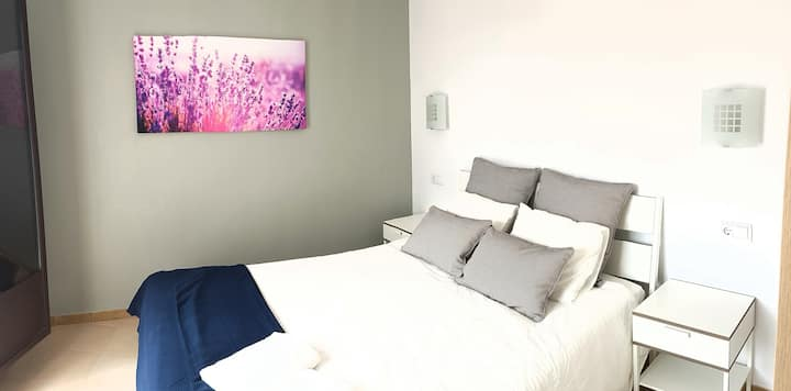 Beautiful apartment, 300 meters from the beach