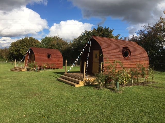 Unique Luxurious Glamping Pods - 2 available - Suffolk