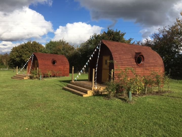 Buxhall Country Glamping Pod 2