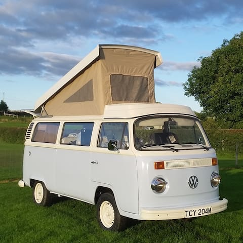 Murdoch the Retro VW T2 Campervan - North Yorkshire - Husbil/husvagn