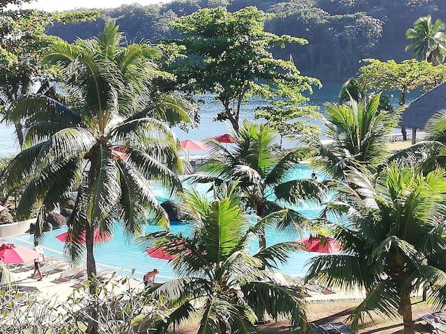 Grand appartement de 78m2 avec vue sur mer Tahiti