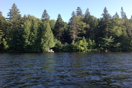 Chalet charmant sur bord de lac - Saint-Raymond - Haus