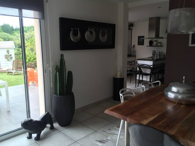 Maison design à 5 min de Lorient et plages - Quéven - Haus