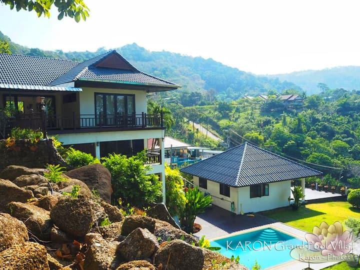 Karon Hillside Pool Villa