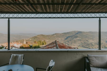 Designer Loft with large roof terrace