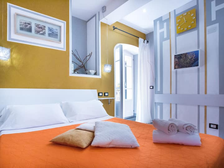 B&B I Coralli Yellow gorgonia room