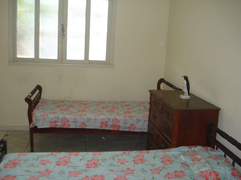 quarto coletivo para até 4 pessoas
