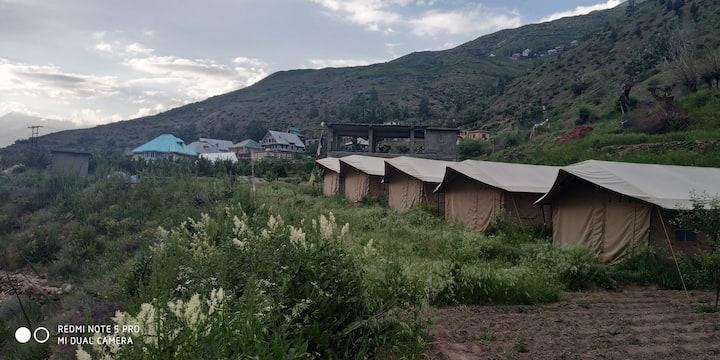 Chandra Bhaga Camps at Tandi