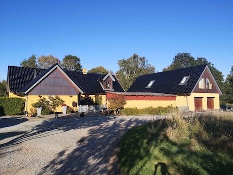 Nyt feriehus tæt på København Roskilde og fjorden.