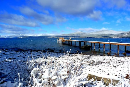 Lakefront Home- N Lake Tahoe-Views! - Sorház