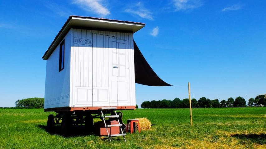 TINY HOUSE/OFF-GRID: FARM SCHOOTEINDHOEVE