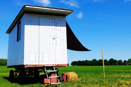 TINY HOUSE/ OFF THE GRID:  SCHOOTEINDHOEVE
