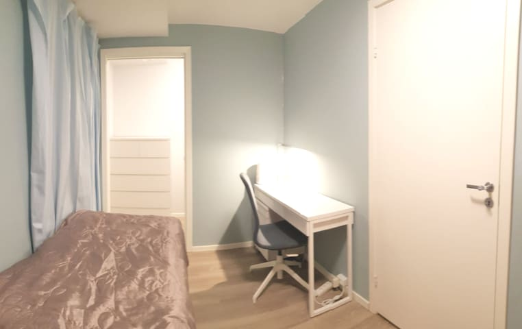 Brand new modern room in the heart of Oslo