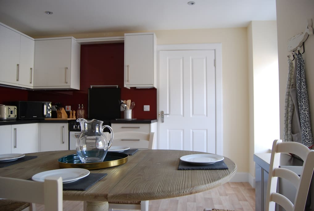 Fully kitted-out dining kitchen to make the most of the wonderful local produce
