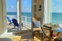 Entire Master Suite Directly ON Ocean, Space Coast