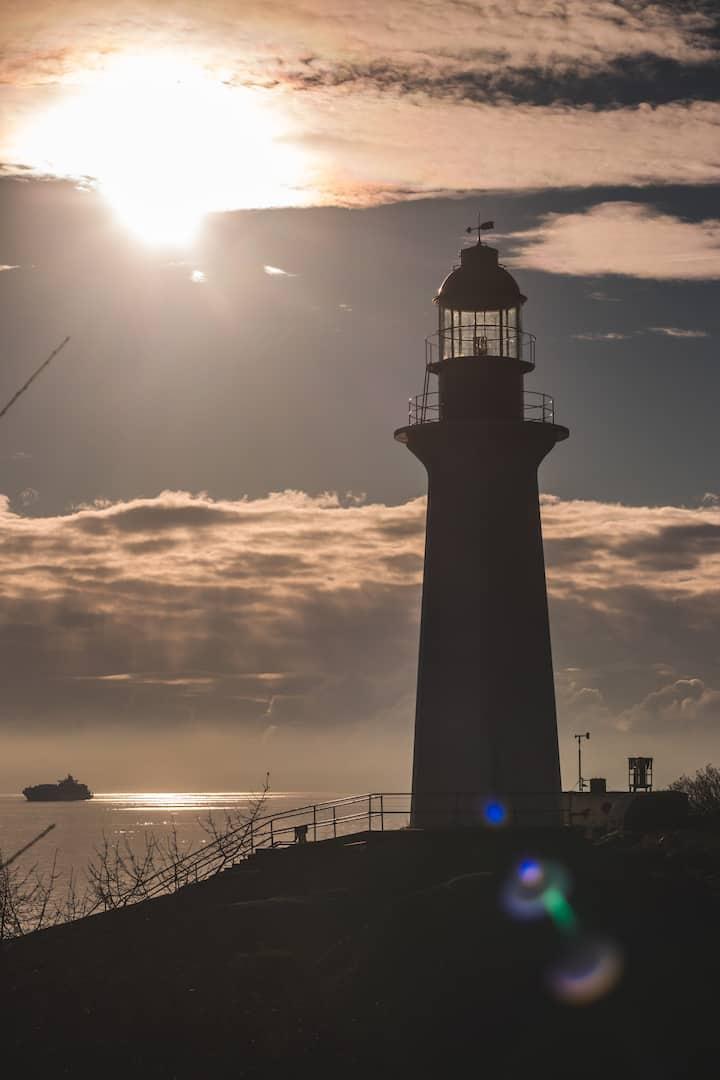 Visit Vancouver's historic lighthouse