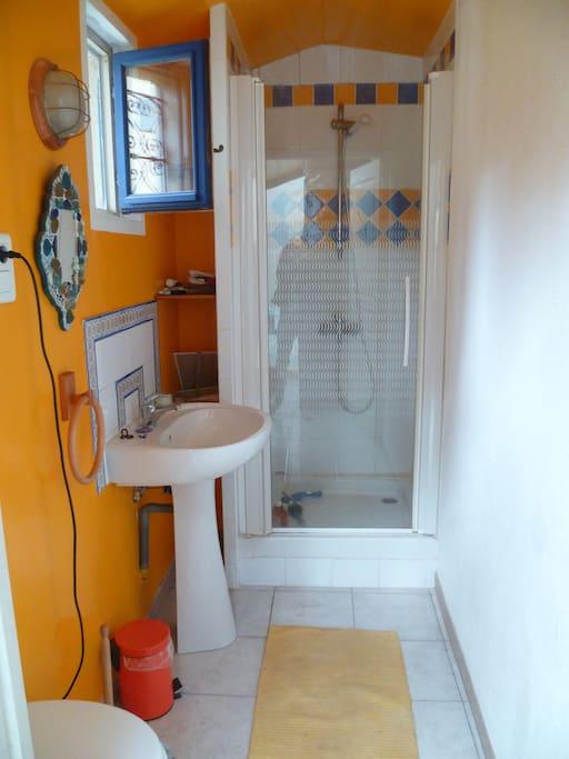 Salle de bains+wc