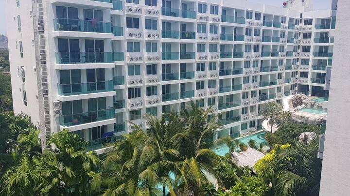 파타야Pattaya, 아마존  Residence, free swimming pool,Gym