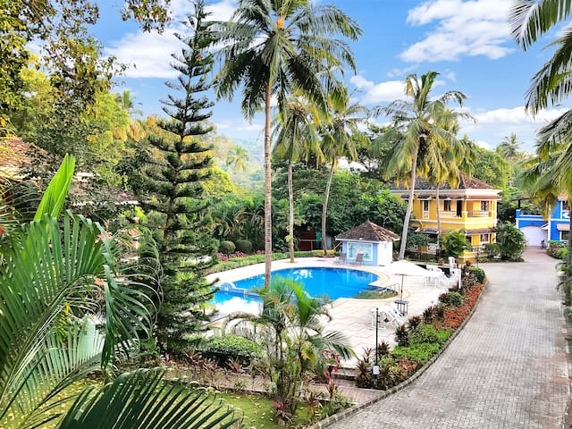 3 Bedroom Villa with Swimming Pool in North Goa
