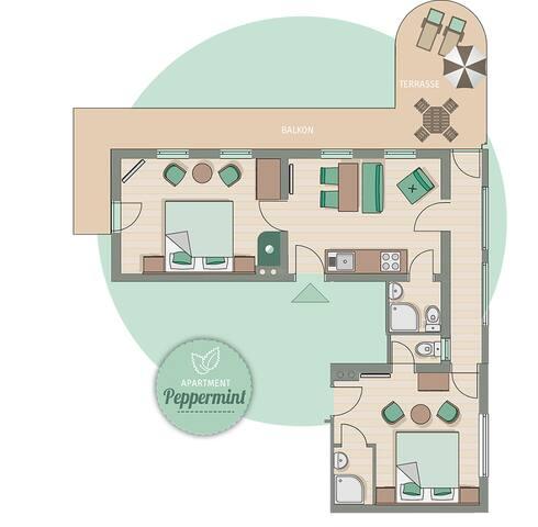 Apart Matthias*** - Apartment Peppermint