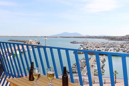 Lovely apartment with spectacular sea views!