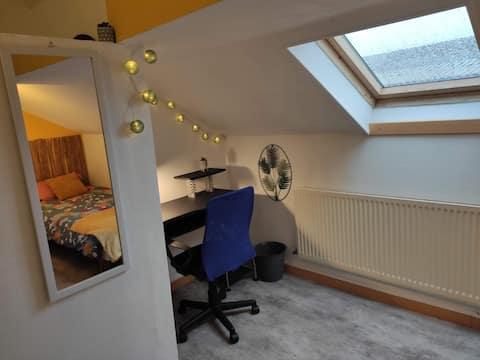 Chambre au calme, tout confort, situation idéale !
