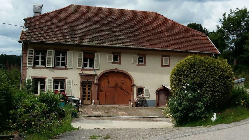 La maison traditionnelle des Vosges