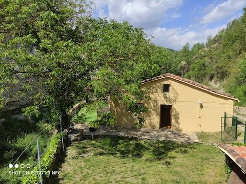 Wild Montserrat barn conversion near Barcelona