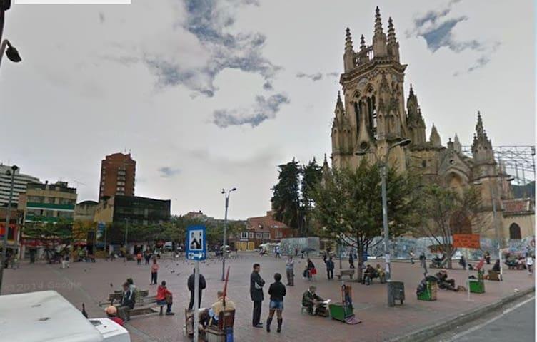 Bogotá, Chapinero. Monks.