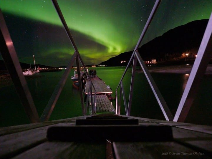 Experience aurora borealis in northern Norway
