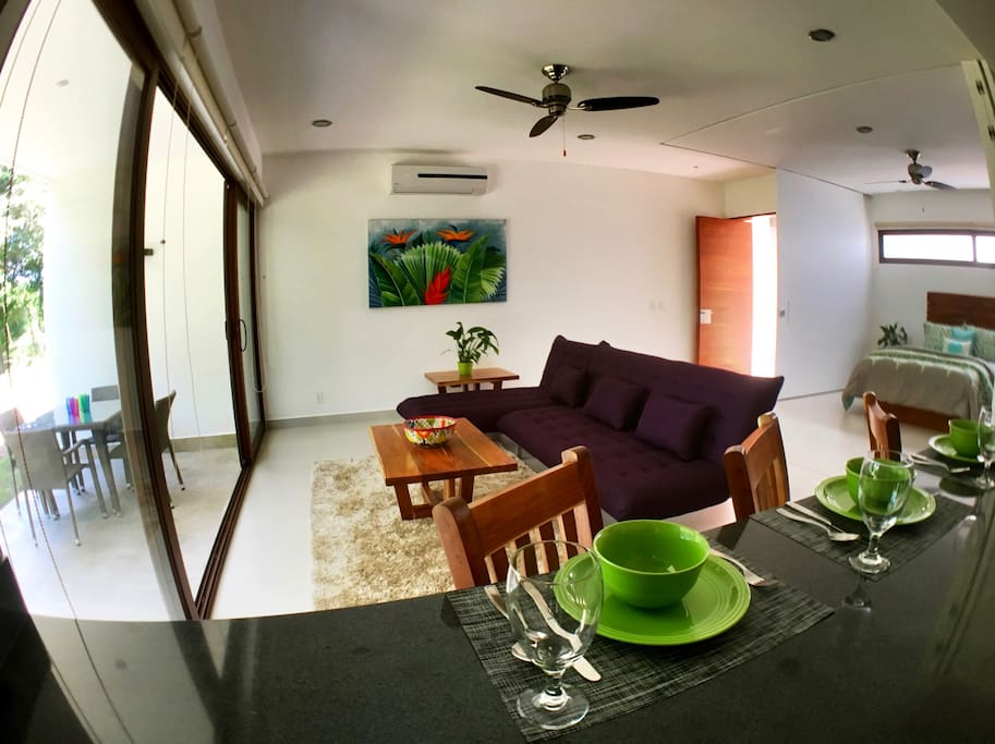 Spacious Living with Jungle View