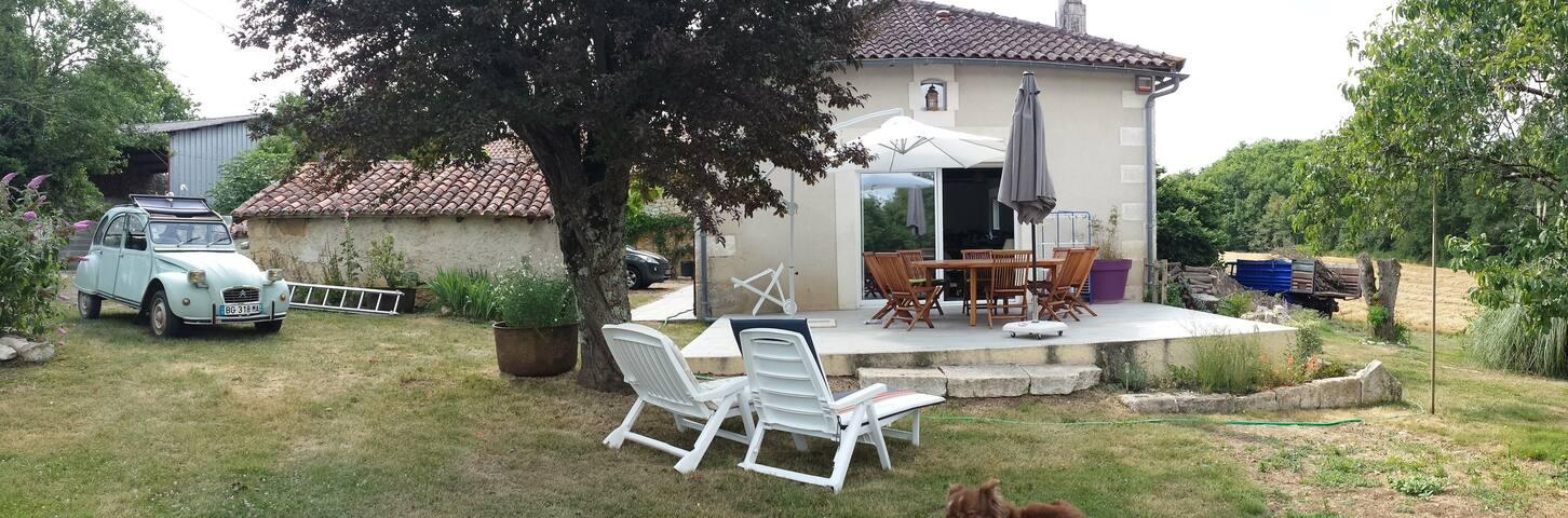 Maison de campagne 8 pers,150 m2, 7km Brantôme - Champagnac-de-Belair