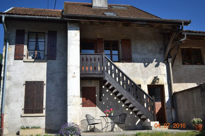 Charming country farmhouse, near CERN and Thoiry. - Saint-Jean-de-Gonville - Casa