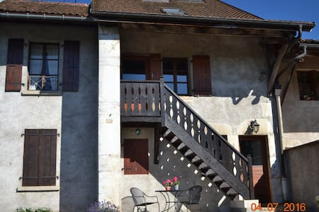Charming country farmhouse, near CERN and Thoiry. - Saint-Jean-de-Gonville - Hus