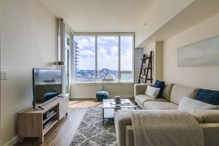 Modern Downtown San Diego 1 Bedroom Apartment