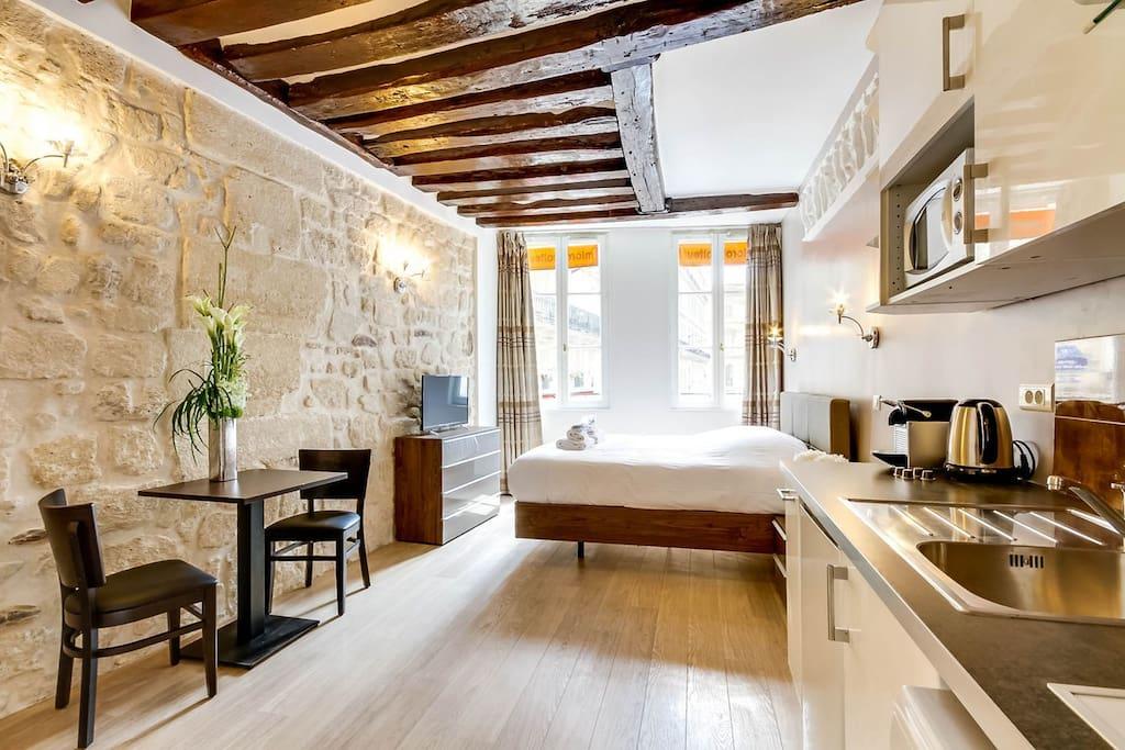 louvre 1 upper class suite rue saint honore flats for rent in paris le de france france. Black Bedroom Furniture Sets. Home Design Ideas