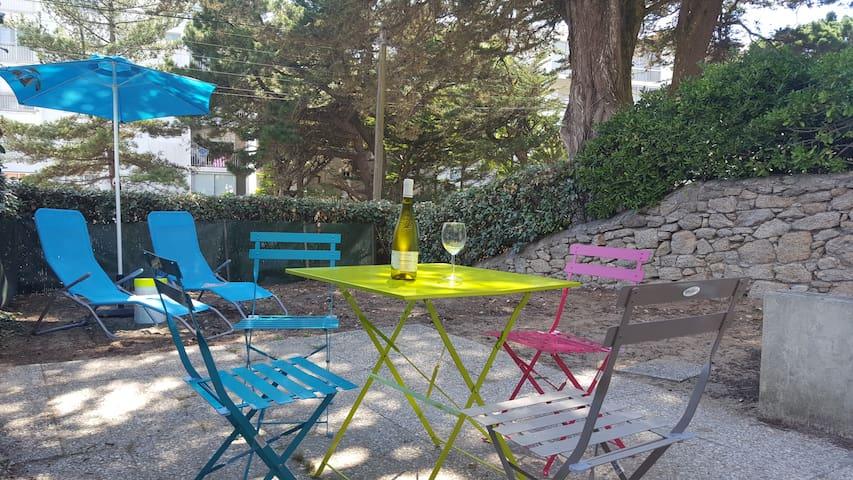 Joli appartement avec jardin 50 m de la mer - Pornichet