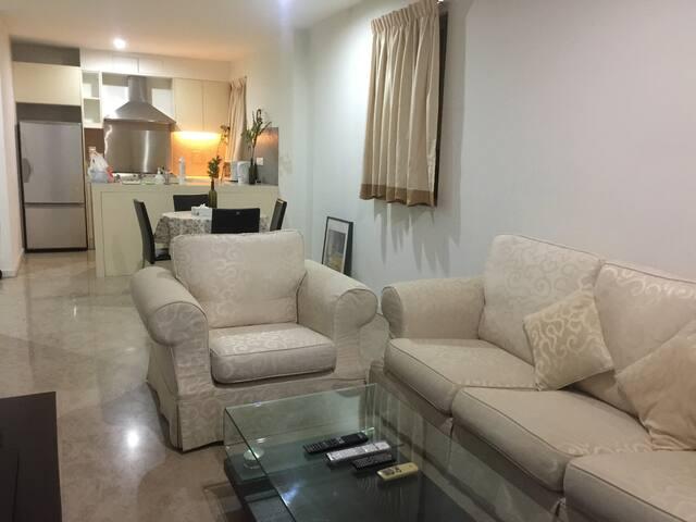 Cozy 1br, Walk to Jalan Alor, Rooftop pool A20K01 - Kuala Lumpur - Appartement
