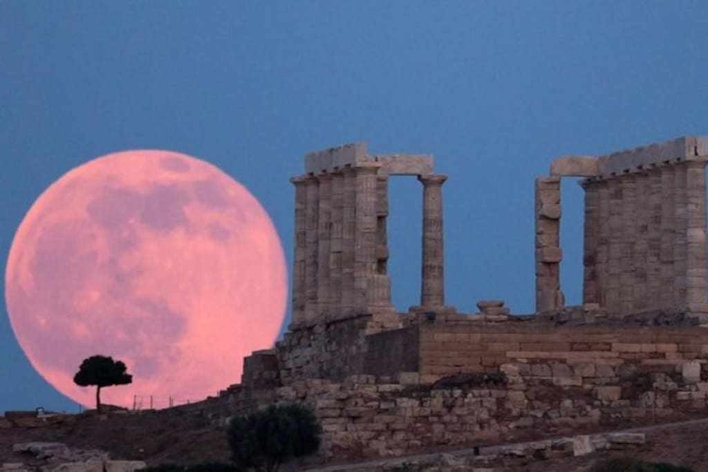 Sounion Temple at 5 klm.
