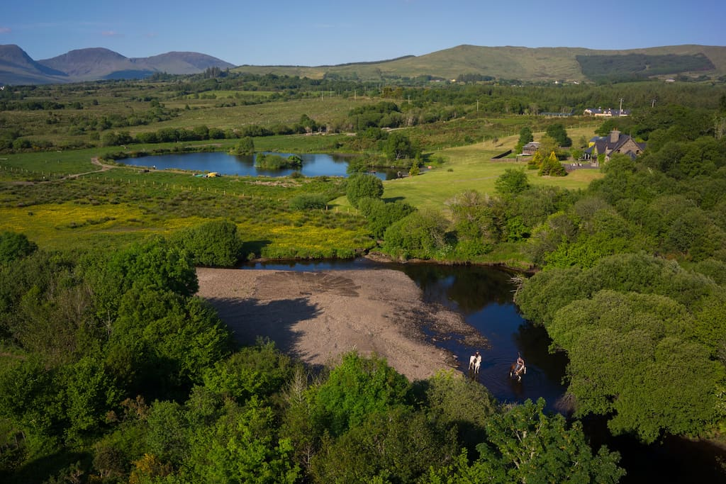 The Estate, with lovely horse trekking available