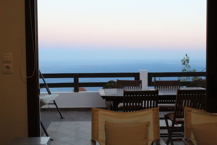 Home with amazing view in Anatoli!