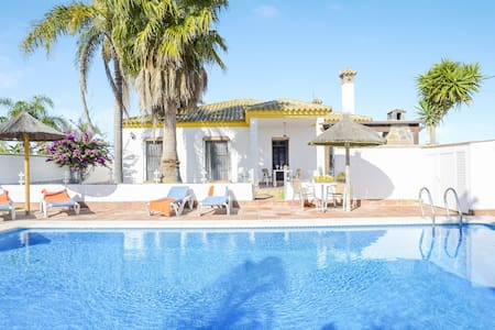 Charming Home Casa Villanueva 3 with Pool, Terrace, Garden,  Air Conditioning & Wi-Fi; Parking Available