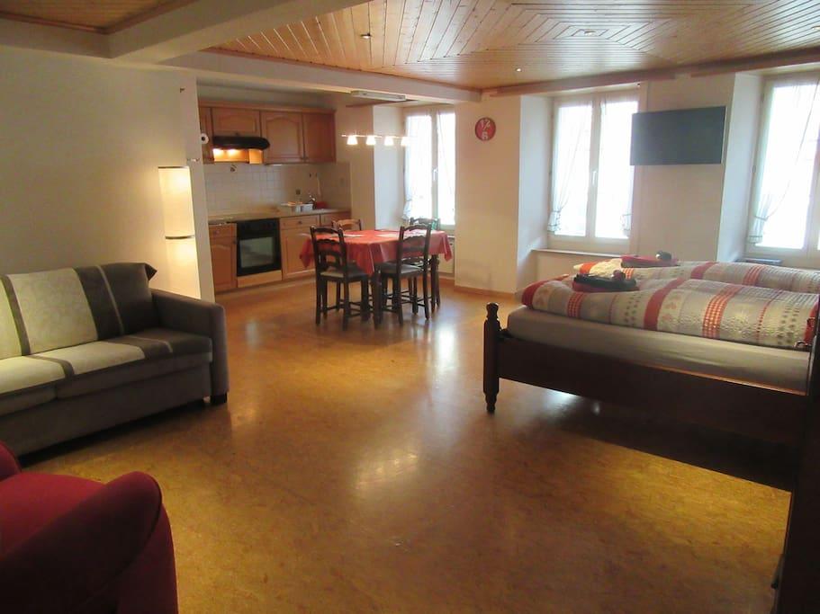 Cozy 1-room apartment in the center of Interlaken