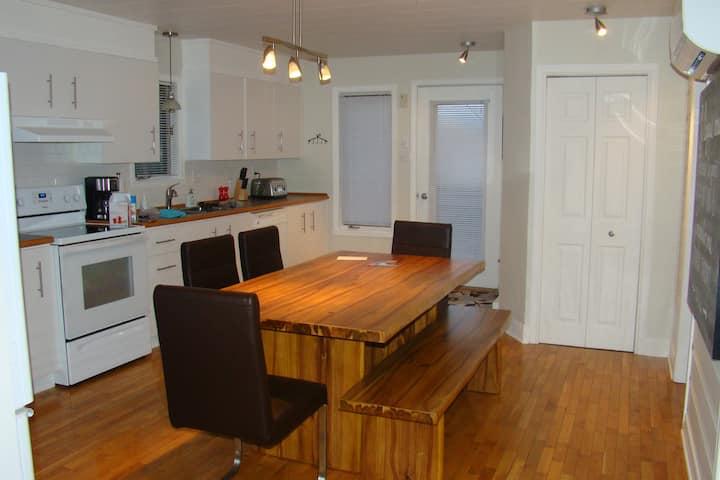 Charmante maison, paisible & confortable
